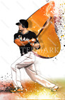 ES496 Mike Giancarlo Stanton Miami Florida Marlins 8x10 11x14 16x20 Comic Photo on Ebay