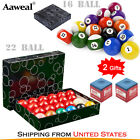 "New Billiard Pool Ball Set Standard Size 2-1/4"" &Pool Balls 2-1/16"" Snooker ball $26.99 USD on eBay"