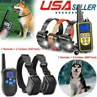 330/875 Yards Dog Training Shock Collar Remote Waterproof Rechargeable Pet Train