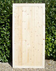 1950mm High (6.5ft) PREMIER PANELLED Wooden Pedestrian Side Gates - SELECT WIDTH