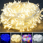 600 Led Battery Powered Fairy String Lights In/outdoor Xmas Christmas Decoration