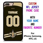NEW ORLEANS SAINTS JERSEY NFL Custom Phone Case Cover for iPhone Samsung Galaxy $15.9 USD on eBay