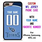 TENNESSEE TITANS JERSEY NFL Custom Phone Case Cover for iPhone Samsung Galaxy $15.9 USD on eBay