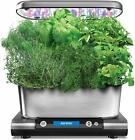 AeroGrow AeroGarden Harvest Elite (WiFi) + Gourmet Herb Seed Pod Kit + Nutrients