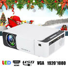 Portable HD LED Projector Home Theater Cinema Beamer HDMI USB VGA AV 1920*1080