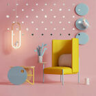 Wall Stickers Mirror Removable Vinyl Multi Shape  Decal Home Decors Art Diy