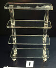 Choice of Modern Clear Acrylic Furniture for Miniature Dollhouse in 1:12 Scale