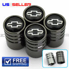 VALVE STEM CAPS WHEEL TIRE FOR CHEVROLET CHEVY 4PC 2 COLOR OPTION - US SELLER