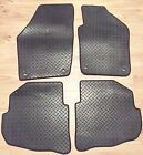 Toyota Aygo 2015 2016 2017 2018 - DELUXE CARPET RUBBER TAILORED CAR FLOOR MATS