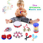 Children's Wooden Percussion Instruments Promote Early Music Education Toy Gift