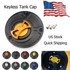 Motorcycle Keyless Gas Fuel Tank Cap Oil Cover Fit For MV Agusta F4 2010-2013