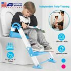 Kids Chair Toddler Trainer Training Seat Step Potty Ladder Toilet With Up Stool image