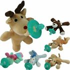 Kyпить Cute Baby Pacifier Clip Chain Plush Cartoon Animal Toy Soother Nipple Holder WW на еВаy.соm