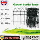 Garden Border Fence Lawn Edging Protective PVC Coated Wire Patio 10m/25m NEW