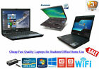Cheap Fast Windows 10 Laptop Dell/hp/lenovo I3/ Core 2 Duo/ 500gb 4gb Ram Wifi