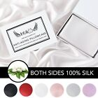 100% Mulberry Silk Pillowcase For Hair Skin Anti-Aging Zipper Closure 19 momme image
