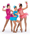 Dance Costume Child or Adult Pink or Coral Sequin Jazz Tap DUET A Wish Come True