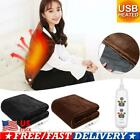 USB Heated Warm Shawl Heated Wrap Winter Electric Warming Heating Blanket Pad image