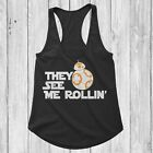 BB8 Rolling Star Wars Tank Women $5.95 USD on eBay