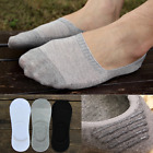 LOT Men Loafer Boat Invisible No Show Nonslip Liner Low Cut Cotton Socks WF