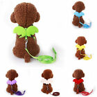Small Dog Angel wings Adjustable Harness Pet Walk Hand Strap Collar Chest straps