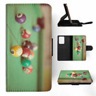 SNOOKER POOL TABLE BALLS 4 FLIP WALLET CASE COVER FOR SAMSUNG GALAXY S $10.45 USD on eBay