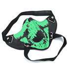 Punk Skull Half Face Mask Leather Windproof Dust Mask Motorcycle Rider Biker