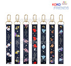 BTS BT21 Official Hand Strap Universtar Key Chain Holder KPOP Goods Authentic MD