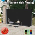 Patio Terrace Side Awning Automatic Roll-back Terrace Privacy Screen Outdoor A