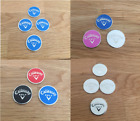 Sets of 2, 3 & 4 Magnetic golf ball markers (Callaway)