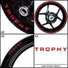 Triumph Trophy Motorcycle Sticker Decal Graphic kit SPKFP1TR016 $73.0 USD on eBay