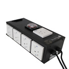 Hydroponics Heavy-Duty Black Box Timers 2 4 6 8 Way Contactor Built In Timer