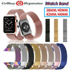 Magnetic Milanese Band Metal Strap For iWatch Apple Watch Series 5 40mm 44mm US image