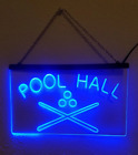Pool Hall LED Sign Billiards Snooker Bar Light $29.95 USD on eBay