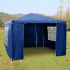 3x3M Heavy Duty Gazebo Marquee Canopy Waterproof Garden Patio Party Tent w/Sides