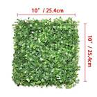 12pcs / 24pcs Artificial Plant Foliage Hedge Grass Mat Greenery Wall Fence Panel