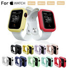 For Apple Watch Series 5 4 3 2 1 Bumper Silicone Protector Case Cover 38/42/44mm image