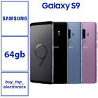 New Samsung Galaxy S9 Sm-g960f 64gb/256gb Black Blue Purple Australian Stock
