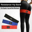 Resistance Hip Band Loop Circle Exercise Workout Fitness Yoga Squat Booty Leg US image