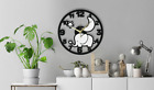 Elephant Moon Wall Clock Gift Silent Non-Ticking Kitchen Living Bed Room 213