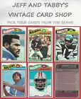 1977 TOPPS FOOTBALL 355 to 528 U-PICK FROM SCANS $1.0 USD on eBay