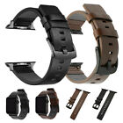 For Apple Watch Series 5 4 3 2 iWatch 38/42/40/44mm Genuine Leather Strap Band image