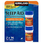 Kirkland Signature Sleep Aid Doxylamine Succinate 25mg Fall Asleep Fast Tablets $11.9 USD on eBay