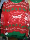 Creative Empire ~ Men's Ugly Christmas Sweater ~ NASA Astronaut ~ Sz M or L NWOT