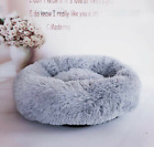 Dog Pet Cat Calming Bed Round Nest Warm Soft Plush Sleeping Bag lovely design