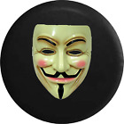 Spare Tire Cover Anonymous Mask Guy Fawkes True Freedom JK Accessories