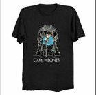 Game Of Bones Star Trek Leonard McCoy Game Of Thrones Parody Movie Black T-shirt on eBay