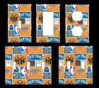 New York Knicks #2 Light Switch Covers Basketball NBA Home Decor Outlet on eBay