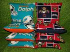Set of 8 Miami Dolphins Florida Panthers Cornhole Bean Bags FREE SHIPPING $25.99 USD on eBay