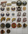 DIFFERENT TEAMS : BUFFALO SABRES CHICAGO NHL HOCKEY LOGO PIN YOUR CHOICE G871 $5.26 USD on eBay